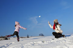 Winter holiday fun Royalty Free Stock Images