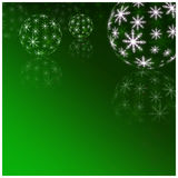 Winter Holiday green Background. Christmas Abstract Defocused Ba Royalty Free Stock Photos