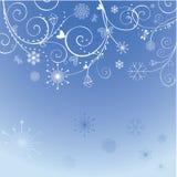 Winter holiday greeting card Stock Photo