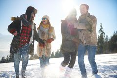 Winter holiday Royalty Free Stock Image