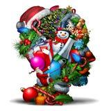 Winter Holiday Head Royalty Free Stock Image