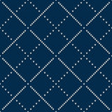 Winter Holiday Knitted Pattern with Snowflakes. Seamless Vector Stock Photo