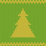 Winter Holiday Knitting Background. Royalty Free Stock Photography