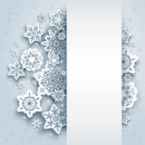 Snow winter background Royalty Free Stock Photos