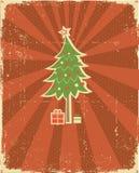 Winter holiday postcard Stock Photo