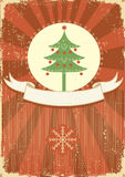 Winter holiday postcard Royalty Free Stock Photography