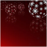 Winter Holiday red Background. Christmas Abstract Defocused Back Royalty Free Stock Images