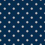 Winter Holiday Seamless Knitted Pattern. Nordic Sweater Design Royalty Free Stock Images