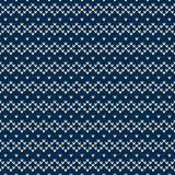 Winter Holiday Seamless Knitted Pattern Royalty Free Stock Photo