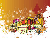 Winter holiday series Stock Images