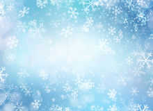 Winter Holiday Snow Background Royalty Free Stock Photos