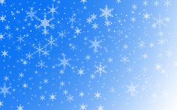 Winter Holiday Snow Background Stock Photo