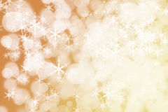 Winter Holiday Snow Background. Christmas Abstract Defocused Bac Stock Photography