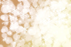 Winter Holiday Snow Background. Christmas Abstract Defocused Bac Stock Image