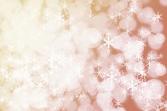Winter Holiday Snow Background. Christmas Abstract Defocused Bac Royalty Free Stock Photo