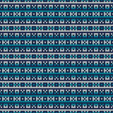 Winter Holiday Sweater Design. Seamless Knitted Pattern Royalty Free Stock Images