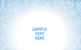 Winter holiday template Stock Photos