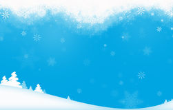Winter Holiday Theme Stock Image