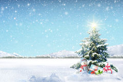 Winter Holiday Theme background Stock Photo