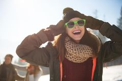 Winter holiday Stock Photography