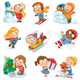 Winter holidays Stock Photo