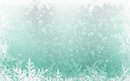 Free Winter Holidays Background Green With Snowflake Stock Images - 133375904