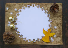 Winter holidays background Royalty Free Stock Image