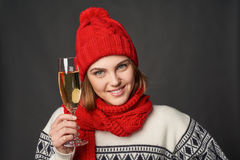 Winter holidays celebration Stock Photo