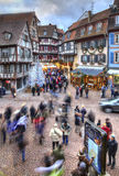 Winter Holidays in Colmar Royalty Free Stock Photography