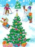 Winter holidays Stock Photos