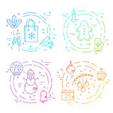 Winter Holidays concept Stock Photography