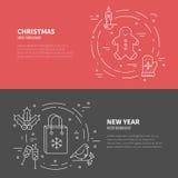Winter Holidays concept Stock Photos