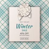 Winter holidays greeting cards set Royalty Free Stock Photo