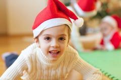 Winter holidays at home royalty free stock image