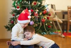 Winter holidays at home royalty free stock photos