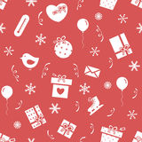 Winter holidays pattern 3 Royalty Free Stock Images