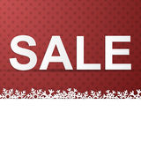 Winter Holidays Sale Royalty Free Stock Image