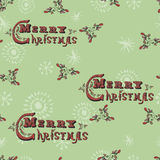 Winter holidays seamless pattern Stock Images