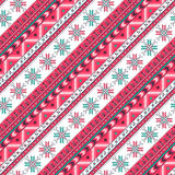 Winter holidays seamless pattern Stock Photos