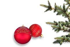 Winter holidays symbols Stock Images
