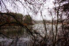 Winter in Holland Stockbild