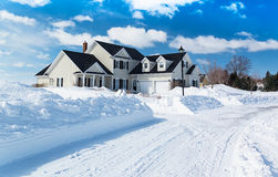 Free Winter Home Stock Images - 46737074
