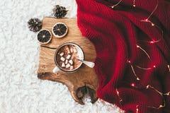 Winter homely decor Royalty Free Stock Photos