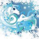 Winter horse Stock Photos