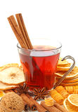 Winter hot drink with spices Royalty Free Stock Photography