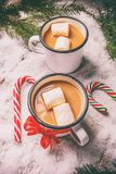 Winter hot drink Stock Image