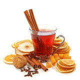 Winter Hot Drink With Spices Royalty Free Stock Photo