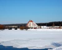 Winter hotel Stock Photos