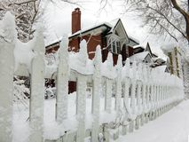 Winter house Royalty Free Stock Images