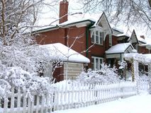Free Winter House Stock Images - 6633064